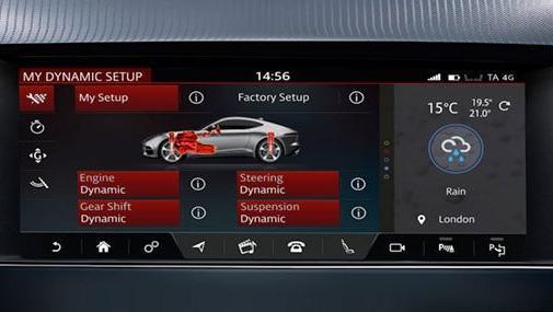Jaguar F-TYPE 2019 Interior 019
