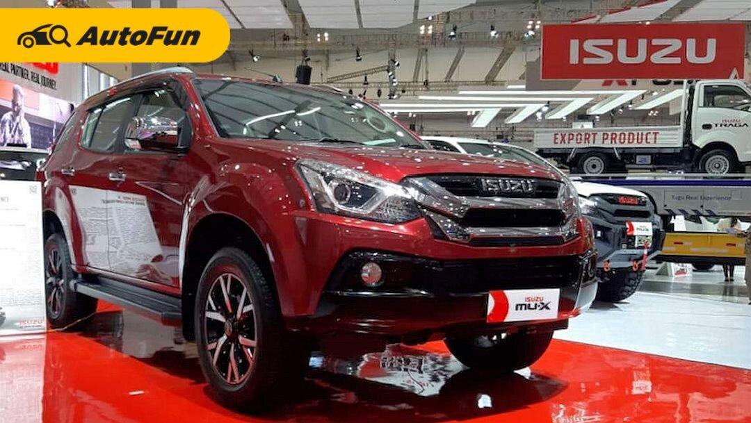 FAQ Isuzu MU-X i-Series, SUV Termurah Jepang Lawan Beratnya Mitsubishi Pajero Sport 01