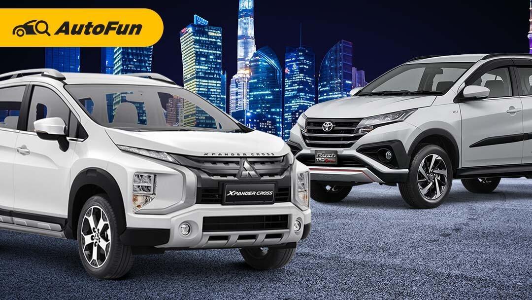 Adu Praktis Mitsubishi Xpander Cross vs Toyota Rush, Mana Lebih Cocok untuk Keluarga Tercinta? 01