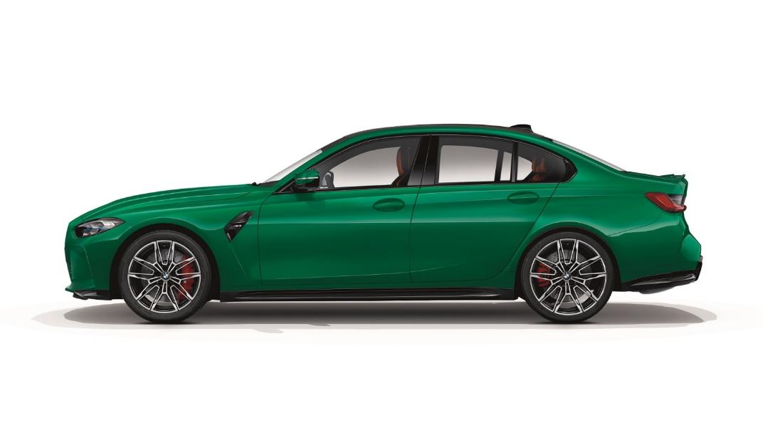 2021 BMW M3 Competition Exterior 002