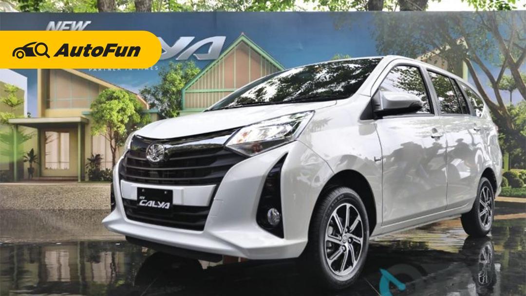 Pakai Mesin Kecil, Tenaga Toyota Calya 2021 Kurang Galak Kalau Penumpang Full? 01