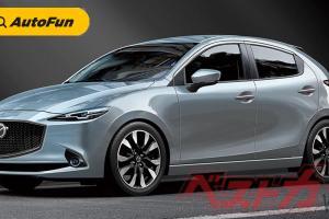 Usung Platform Terbaru, Mazda2 Anyar Diperkirakan Hadir Akhir 2021