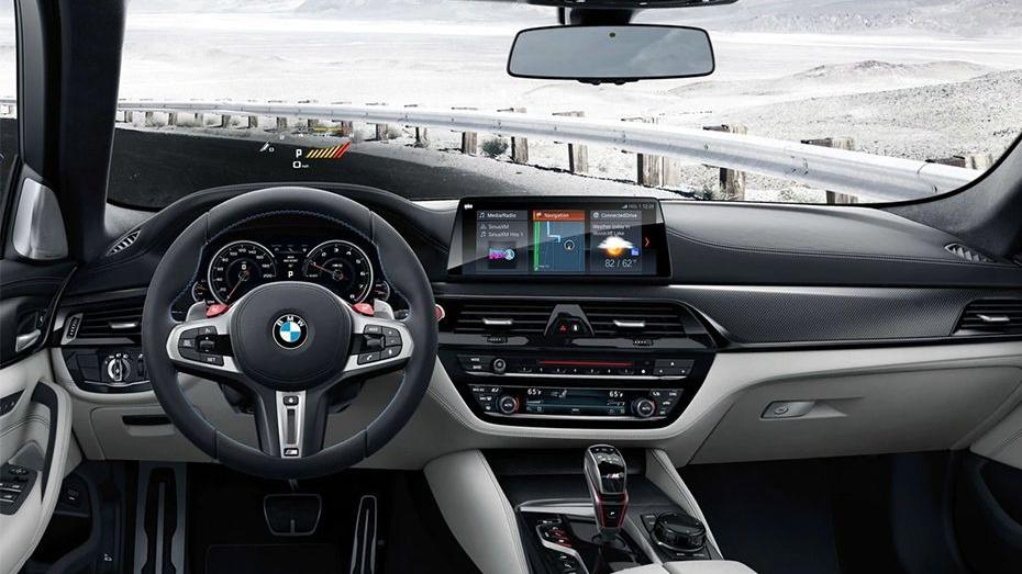 BMW M5 2019 Interior 001