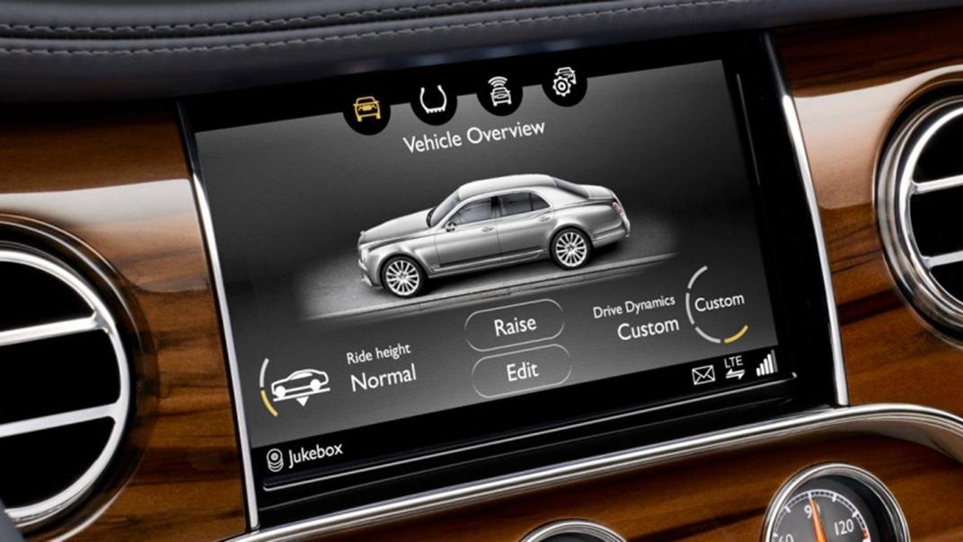 Bentley Mulsanne 2019 Interior 007