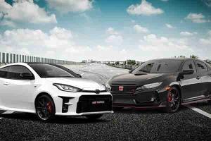 Toyota GR Yaris Vs Honda Civic Type R, DNA Rally Dunia Bisa Mematikan Aura Sportscar?