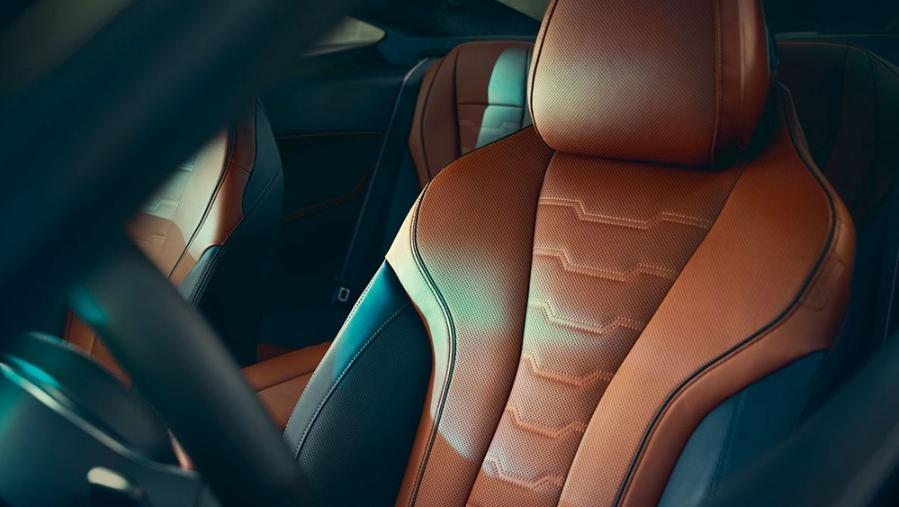BMW 8 Series Coupe 2019 Interior 010