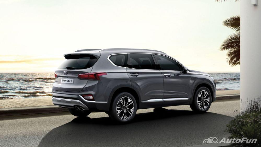 Hyundai Santa Fe 2019 Exterior 011