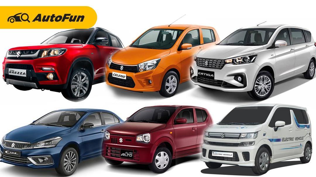 6 Model Terbaru, Termasuk Suzuki Ertiga Diesel Akan Dihadirkan Suzuki Pada 2021 01