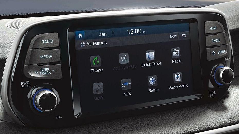 Hyundai Tucson 2019 Interior 009