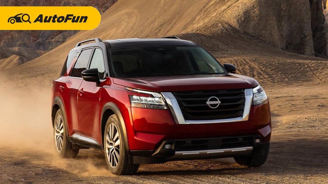 Nissan Pathfinder 2022, Penerus Nissan Terrano yang Akan Menjadi Standar SUV 8 Penumpang 01