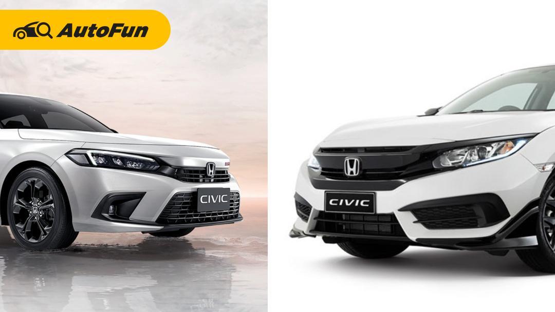 Perbandingan Honda Civic FE 2022 Vs Civic FC 2021, Pantas Naik Kelas? 01