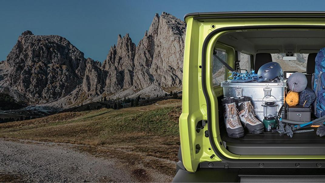 Suzuki Jimny 2019 Interior 004