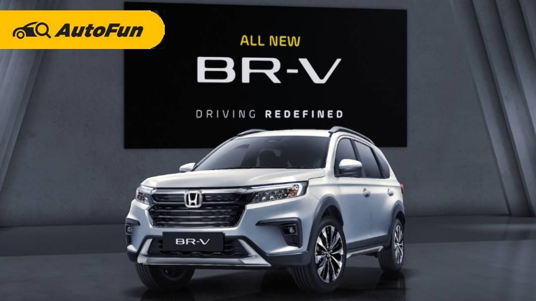 All New Honda BR-V 2022