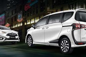 Toyota Sienta Semakin Komplet untuk Semua Kebutuhan Keluarga