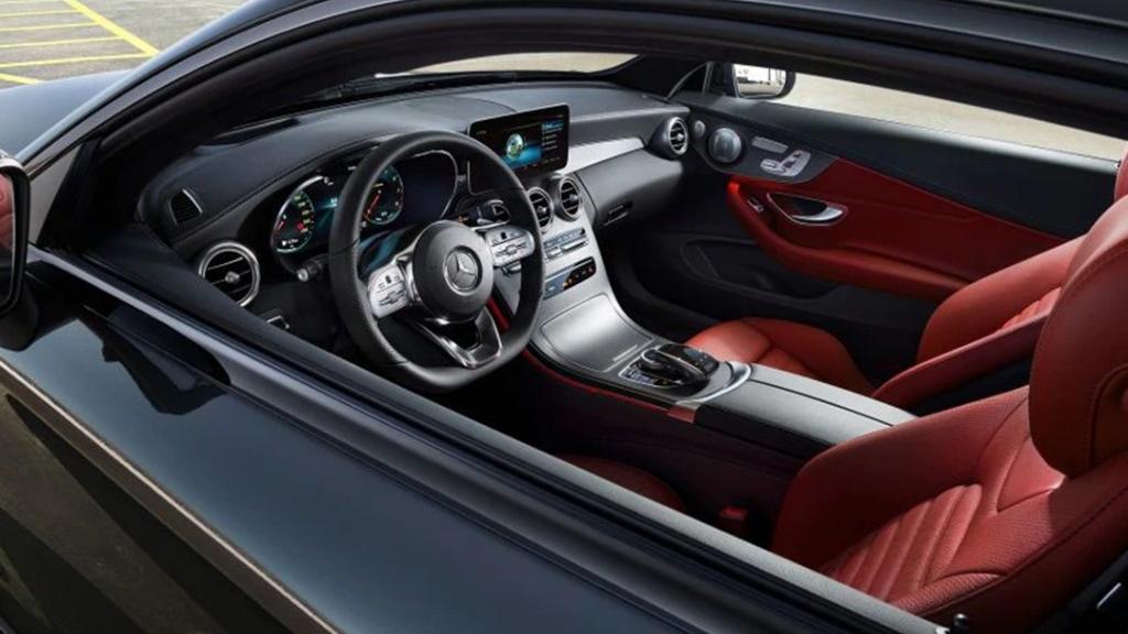 Mercedes-Benz C-Class Coupe 2019 Interior 013