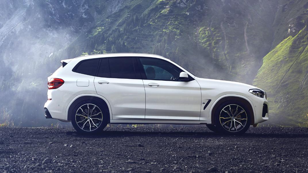 2021 BMW X3 xDrive30i M Sport Exterior 002