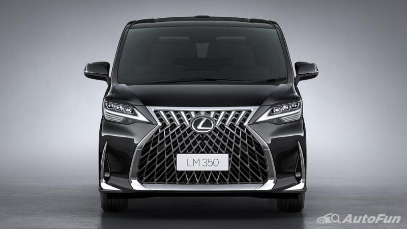 Overview Mobil: 2020-2021Lexus LM dengan eksterior dan daftar harganya 02