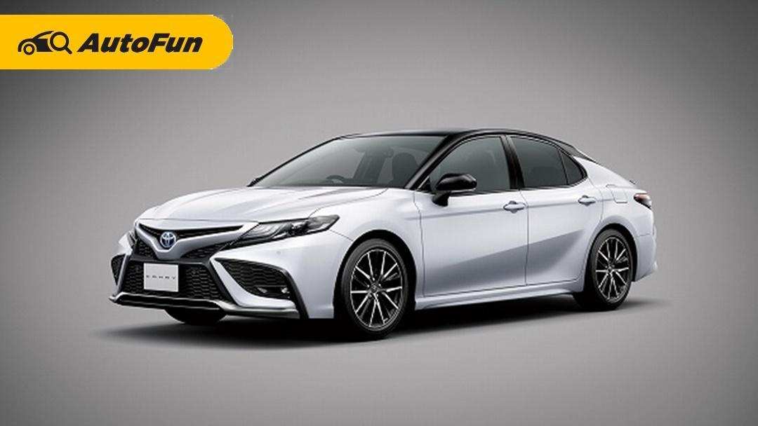 Toyota Camry 2021 Facelift Hadir di Jepang Dengan Sentuhan ala Lexus 01