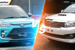 Daripada Beli Toyota Raize 2021, Duit Rp250 Jutaan Kenapa Nggak Beli Toyota Fortuner Bekas?