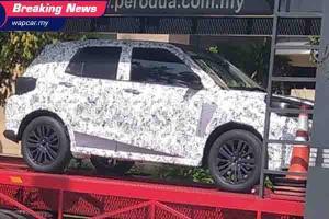 Tertangkap Kamera, Daihatsu Rocky 2021 Semakin Dekat dengan Indonesia!