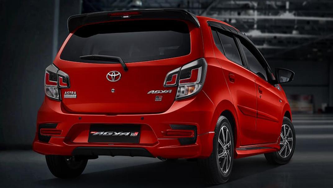 2021 Toyota Agya 1.2 GR Sport A/T Exterior 012