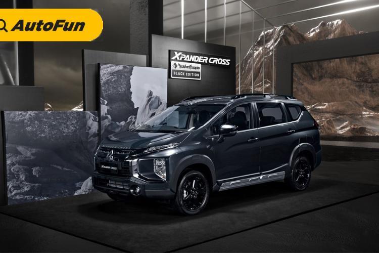 Naik Rp3,8 juta, Apa Bedanya Mitsubishi Xpander Cross Rockford Fosgate Black Edition Dengan Versi Standar?