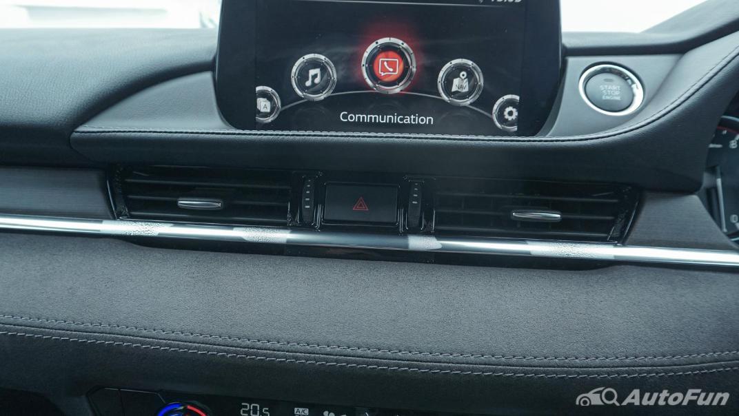 Mazda 6 Elite Estate Interior 028