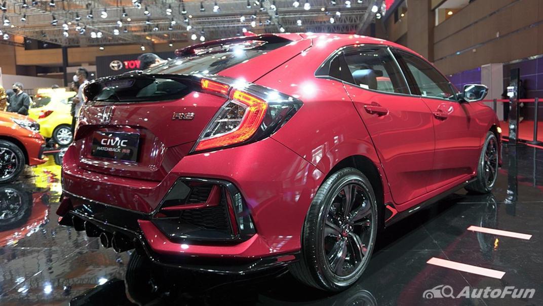 2021 Honda Civic Hatchback Exterior 003