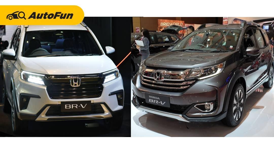 10 Perbedaan Honda BR-V 2022 dengan Model Lawas, Keren yang Baru atau Lama? 01