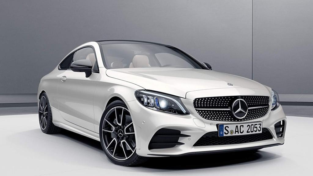 Mercedes-Benz C-Class Coupe 2019 Exterior 001