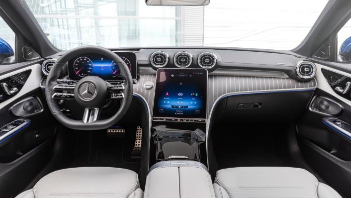 2021 Mercedes-Benz C-Class W206 Upcoming Version Interior 001