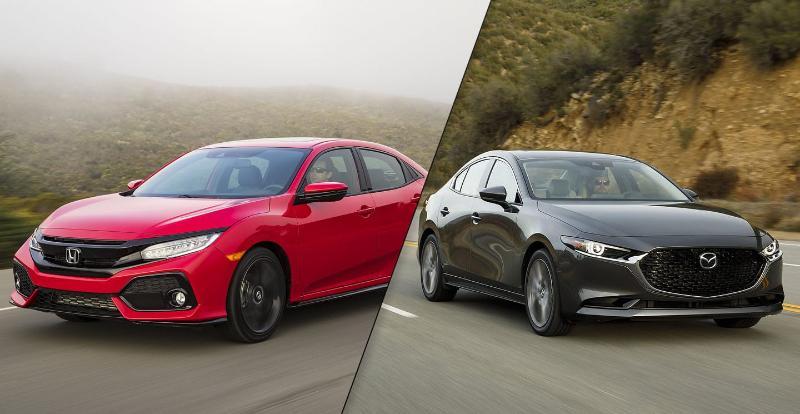Konsumsi BBM Sedan Mana Paling Irit, Honda Civic Turbo atau Mazda 3? 02
