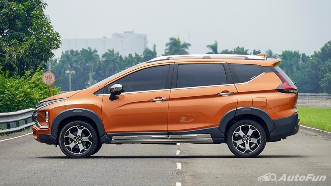 Mitsubishi Xpander Cross 2020 Premium Package AT Exterior 008