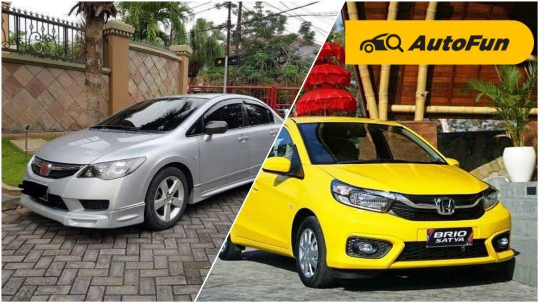 Harga Mirip, Kenapa Honda Civic FD Bekas Lebih Layak Dipilih Daripada Brio Satya? 01