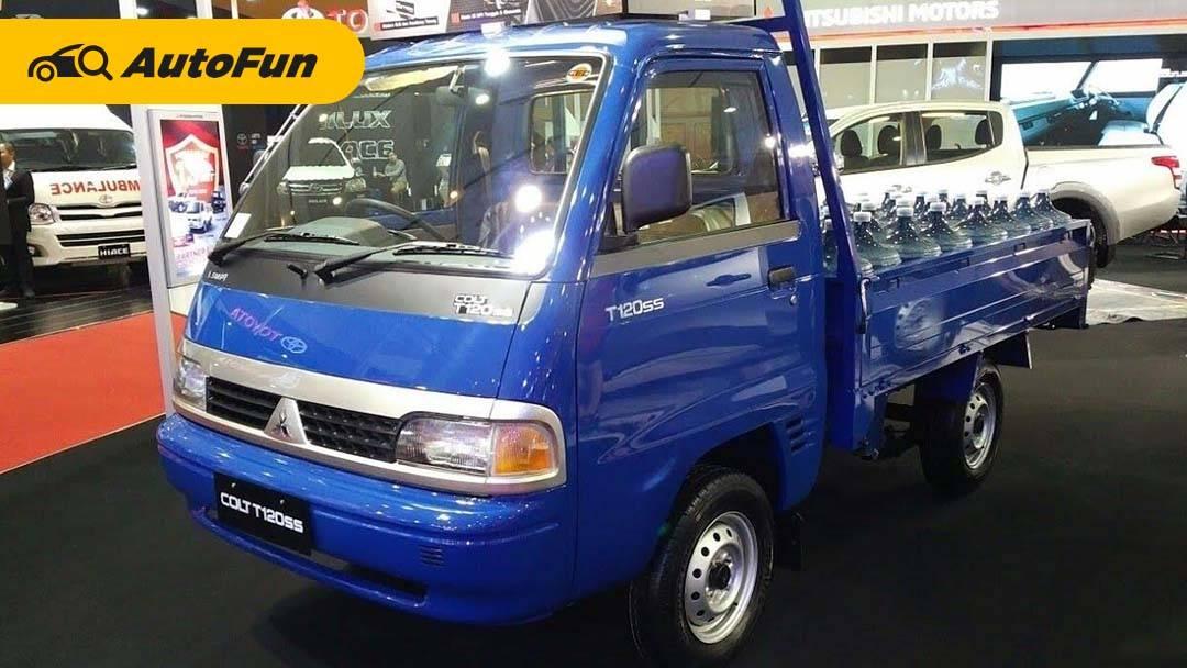 Kelebihan dan Kekurangan Mitsubishi T120SS Pick-Up, Kembaran Suzuki Carry yang Discontinued Karena Masalah Emisi! 01