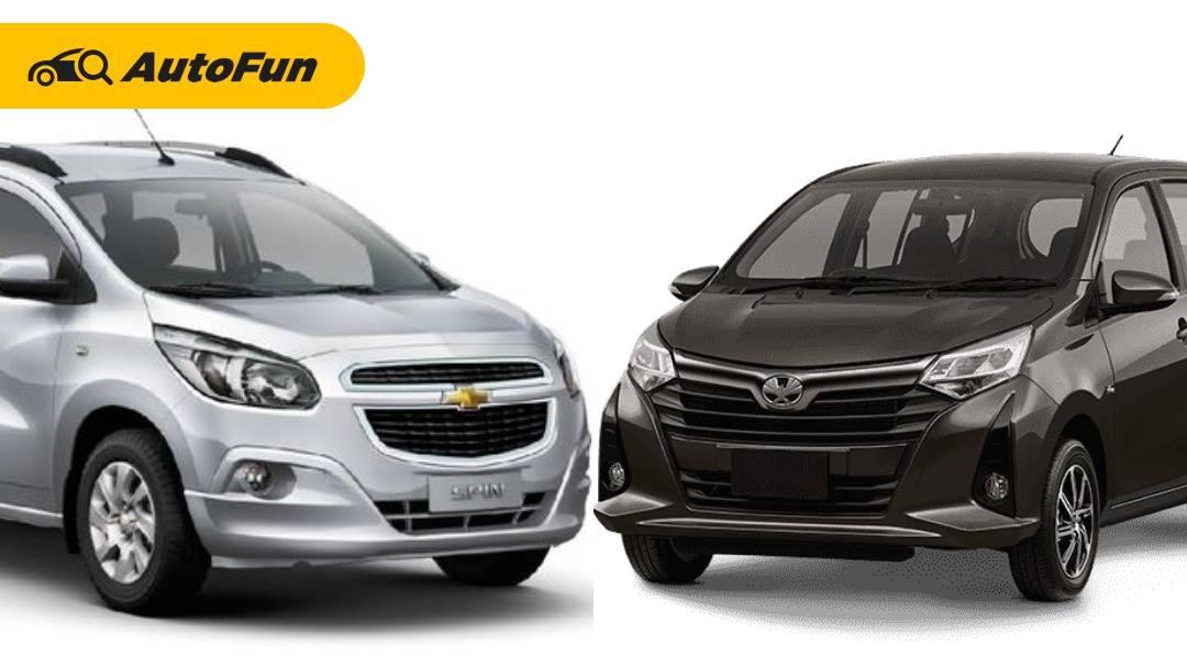 Harga Rp 100 Jutaan, Simak Kelebihan Chevrolet Spin Diesel Yang Lebih Layak Dipilih Dari Toyota Calya 01