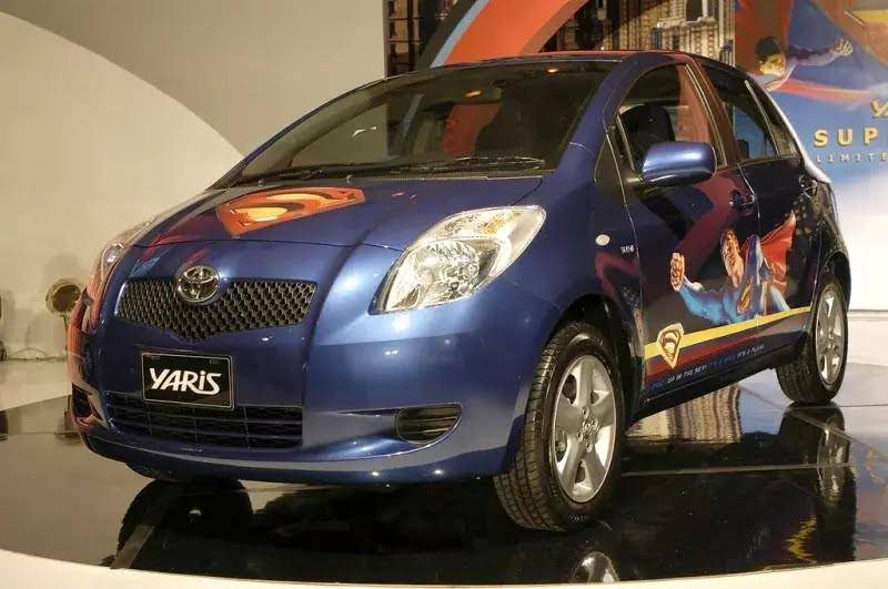 Toyota Yaris Superman Edition