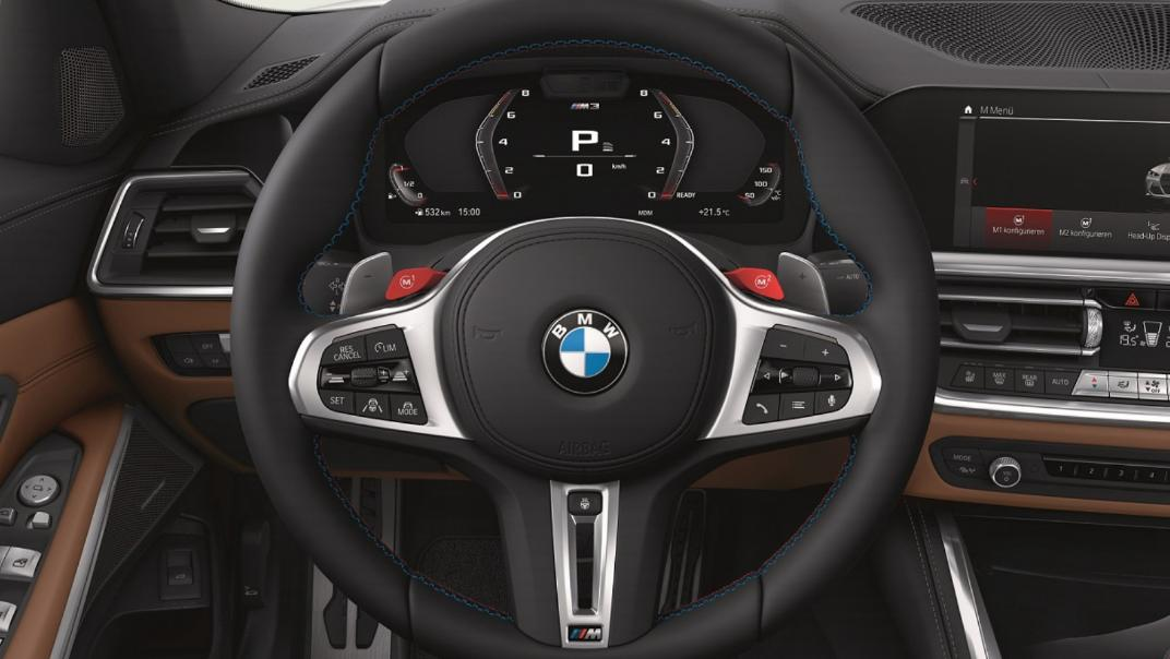 2021 BMW M3 Competition Interior 002