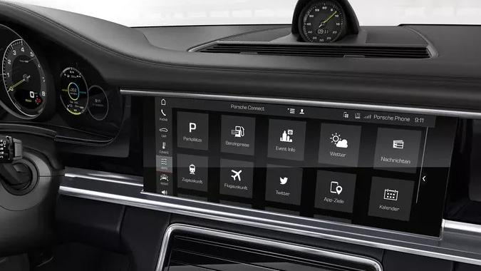 Porsche Panamera 2019 Interior 004