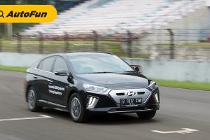 Test Drive Singkat Hyundai IONIQ Electric, Lebih Tajam dari Peluru