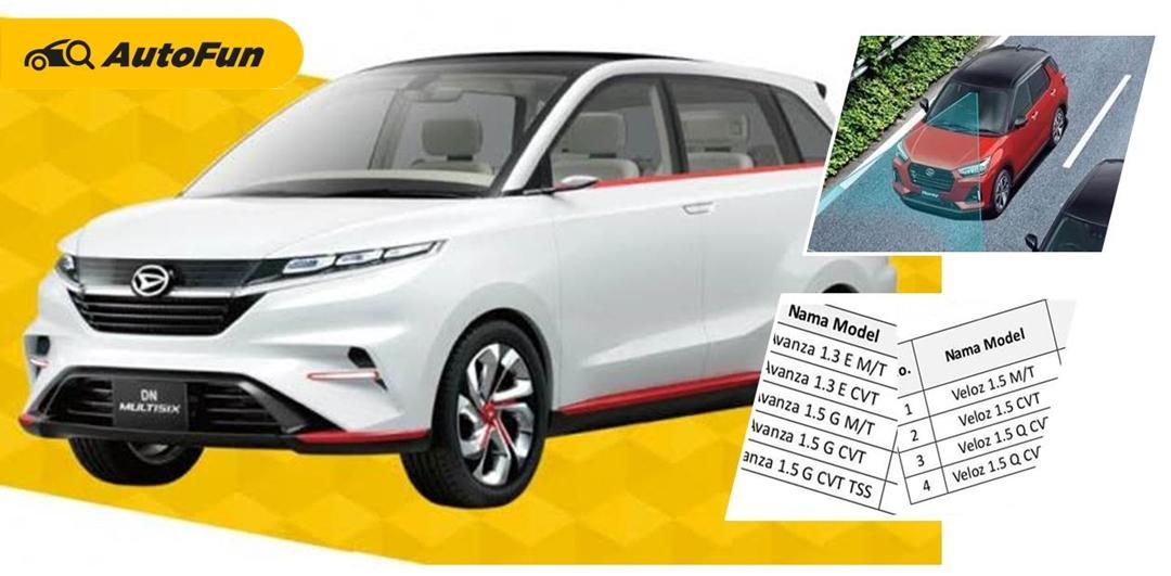 Ini Bocoran Daftar Varian Toyota Avanza 2022 dan Daihatsu Xenia 2022. Ada Fitur Safety Assist! 01