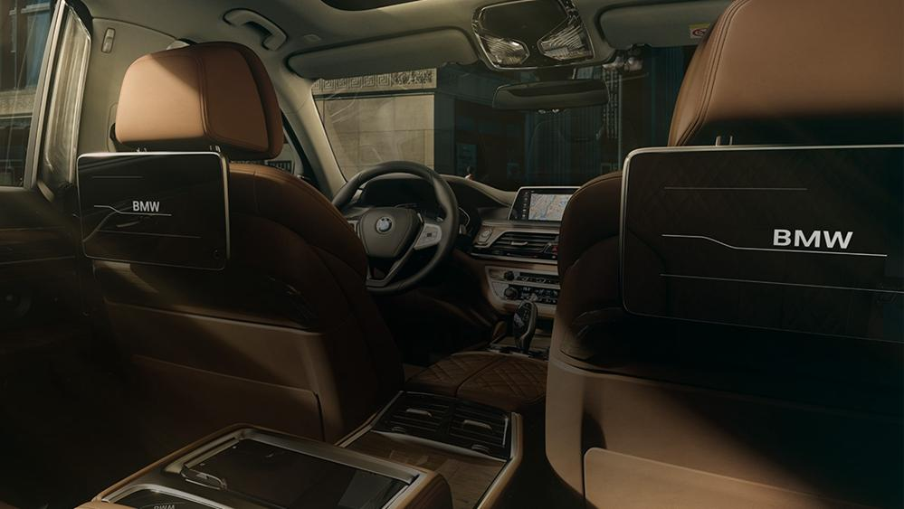 BMW 7 Series Sedan 2019 Interior 007