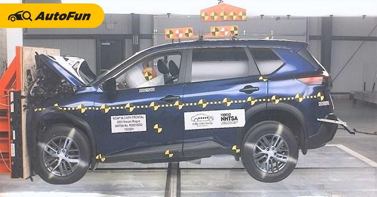 Mengejutkan! Hasil Uji Tabrak Nissan X-Trail 2021 di AS Hanya Raih 2 Bintang 01