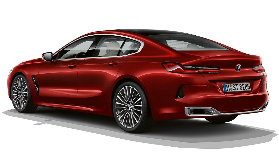 BMW 8 Series Coupe 840i Gran Coupe Exterior 014