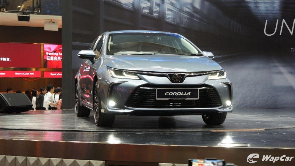 Toyota Corolla Altis 2019 Exterior 003