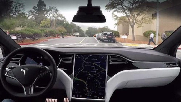Tesla Model S 2019 Interior 001