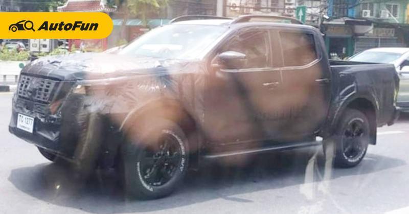 Bakal Mendapat Update, Nissan Navara Terpantau Berbalut Camouflage di Jalanan Thailand 01
