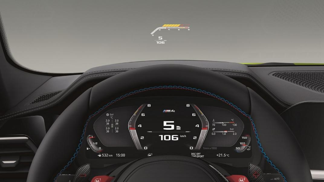 2021 M4 Coupe Competition Interior 002