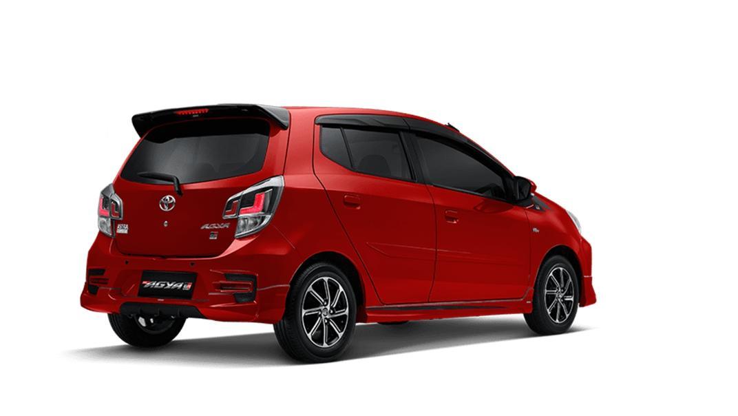 2021 Toyota Agya 1.2 GR Sport A/T Exterior 005