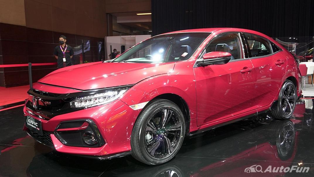 2021 Honda Civic Hatchback Exterior 001